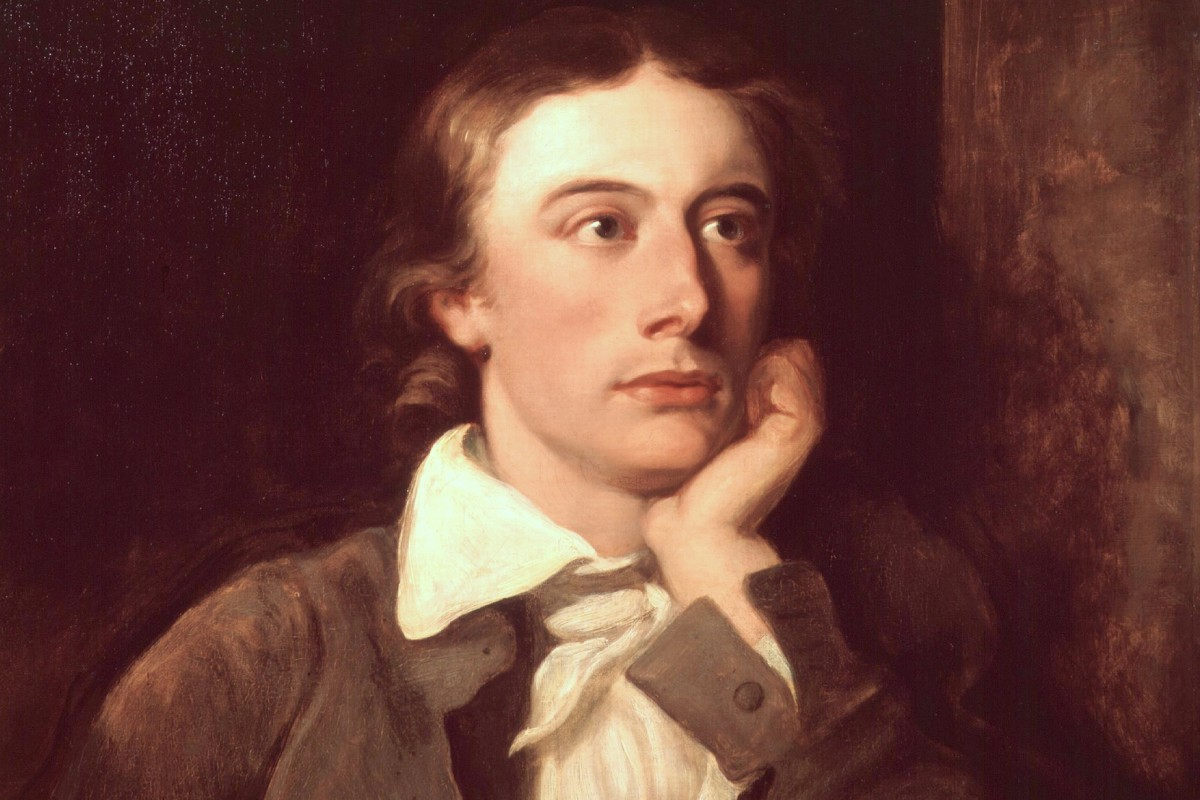 John Keats retratado por William Hilton